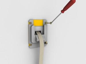 4 rehabilitación de cinta de persiana - pasacintas diha